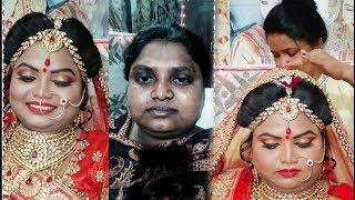 Dark skin bridal makeup|| bridal makeup 2018|| in hindi
