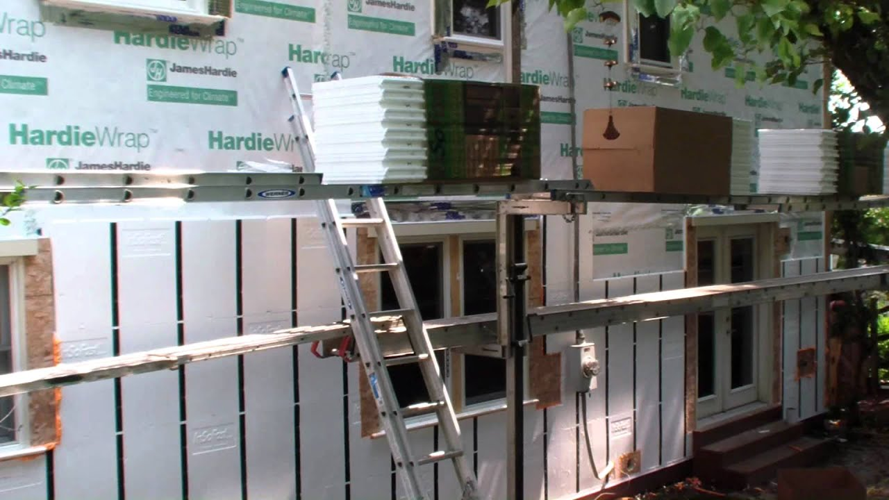 Insofast Hardie Siding Time Lapse Youtube