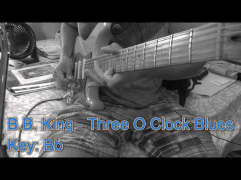 BB King Three O Clock Blues Intro. Key Of Bb
