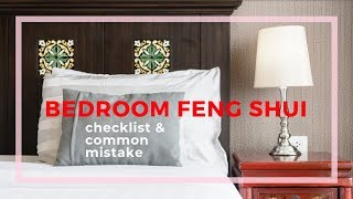 Bedroom feng shui checklist and common mistakes