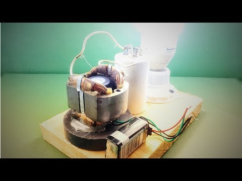220V generator , Free energy , How to make new science experiment project 2018 - Ржачные видео приколы