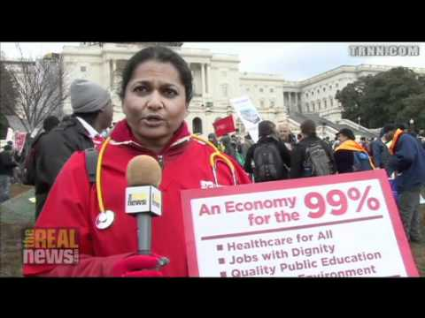 Occupy Movement Targets Congress