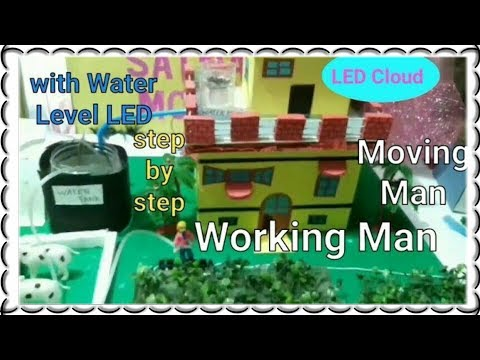 ✔Rain water Harvesting  working model | 10th class science model | rainwater Harvesting