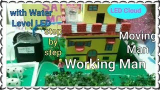 ✔Rain water Harvesting  working model | 10th class science model | save water project for school