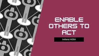Enable Other To Act