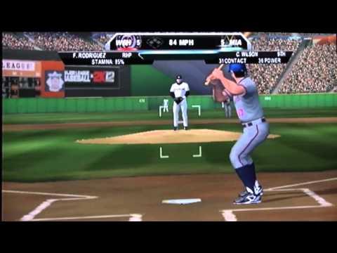 MLB 2k12 Wii 21 INNING GAME!!!!!!!!