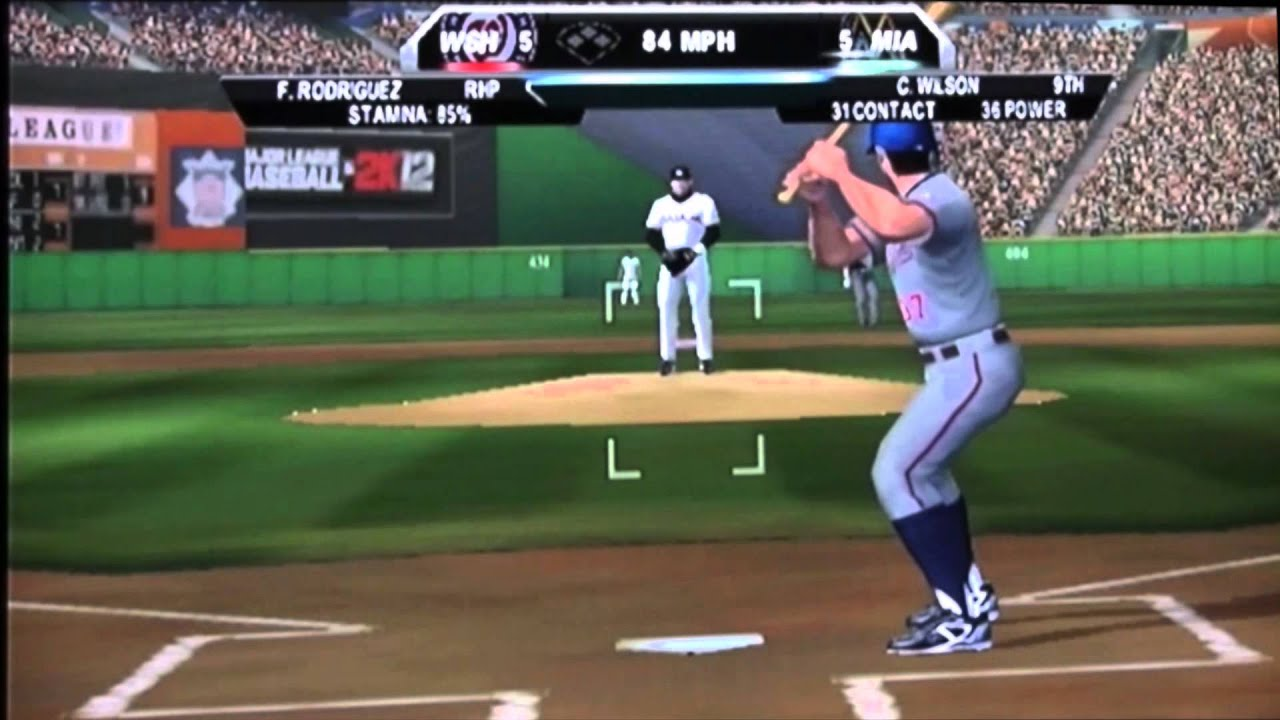 Mlb 2k12 Wii 21 Inning Game Youtube