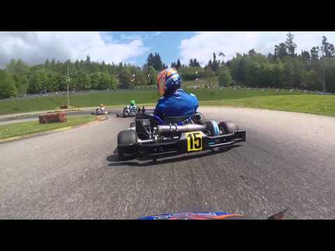 Ampfing DKM onboard Will Stowell. Mega race 34th to 6th!