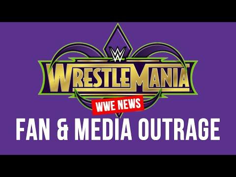 Backlash Against WWE WrestleMania 34 Match
