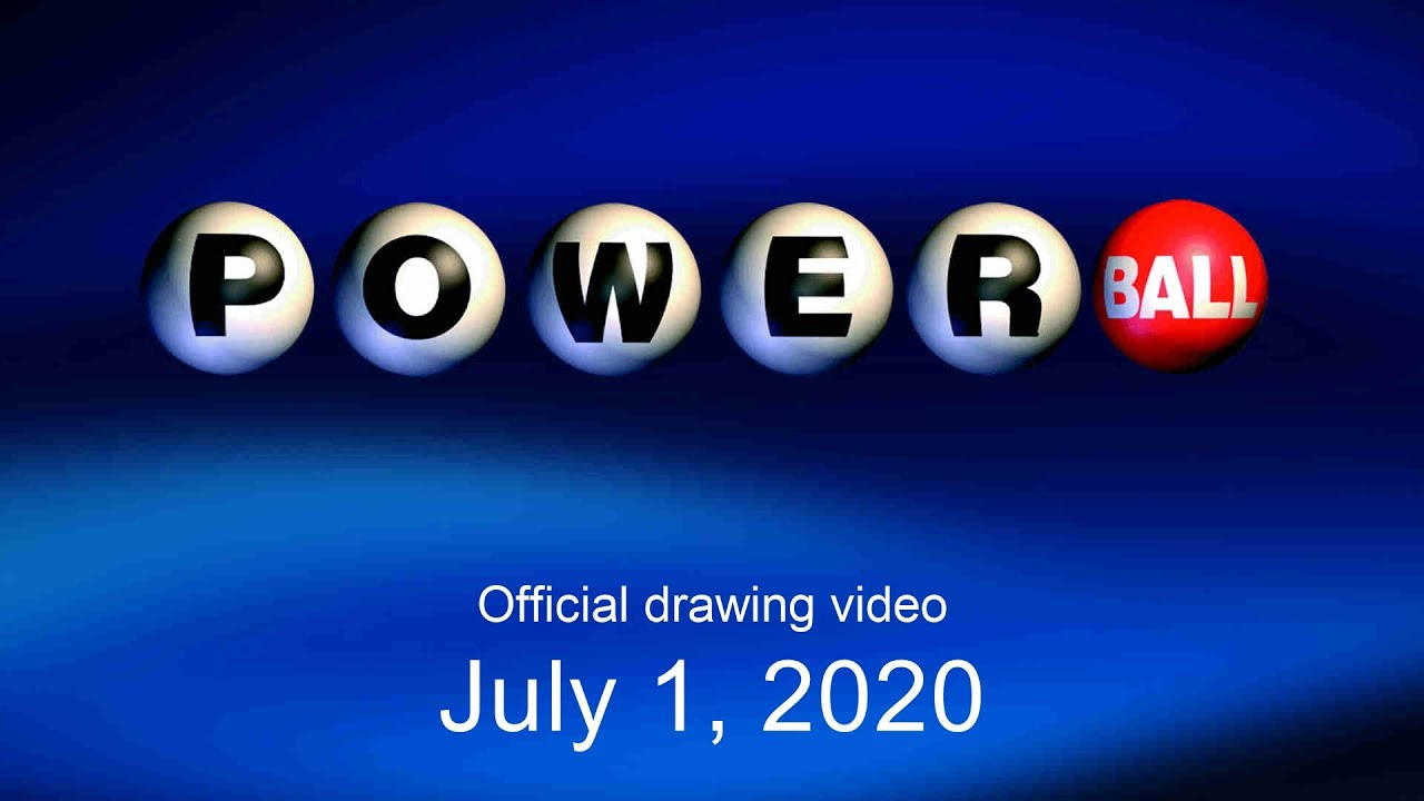 Powerball Drawing Detail For Wednesday July 1 2020 Usa Mega