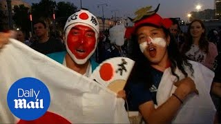 Fans react to Japan vs. Senegal match at 2018 World Cup