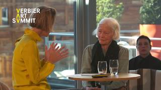 Joan Jonas in Conversation with Jessica Morgan at the 2020 Verbier Art Summit