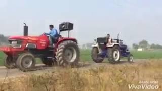 Mahindra Arjun Vs Farmtrac Tractor Tochan ★ JATT DA TRACTOR Video HD