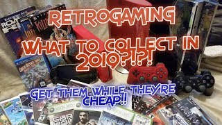 RetroGaming What to collect in 2019?  While They're Still Cheap!! PS3 , Vita, Wii, more!