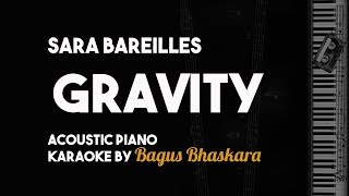 Sara Bareilles Gravity Piano Karaoke Backing Track With Lyrics On Screen