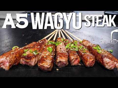 $200 A5 WAGYU STEAK - WHAT TO DO (AND NOT DO!) | SAM THE COOKING GUY 4K