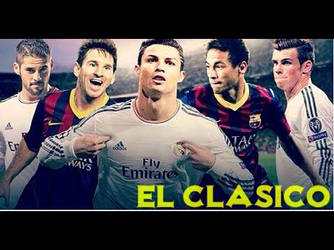 Real Madrid - Barcelona El Clasico Goals BBC vs MSN 21 11 15   HD  