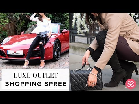 JOIN ME: LUXE OUTLET SHOPPING & PORSCHE  EXPERIENCE | Sophie Shohet