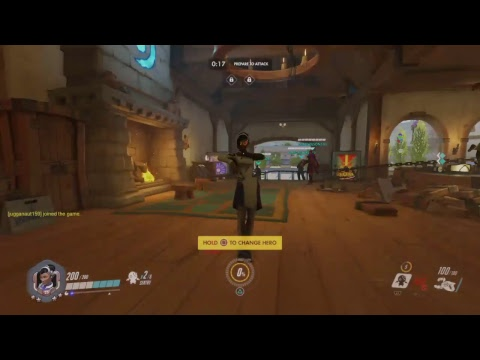 Overwatch Stream (for my wife)