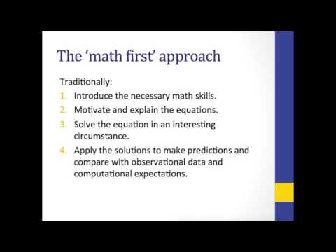 Math vs Physics First Approach to General Relativity