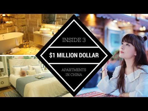 MILLION DOLLAR Chinese Apartments | CHINESE APARTMENT TOUR | 一百萬美元的公寓