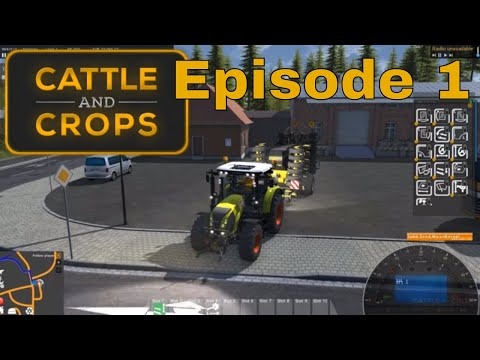 Cattle and Crops Early Access - Official Start - Episode 1