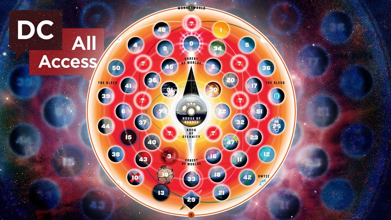 Znalezione obrazy dla zapytania multiversum map dc
