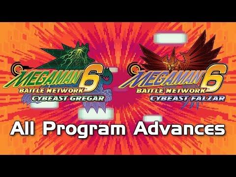 Mega Man Battle Network 6: All Program Advances (Including CrossOver PA!)