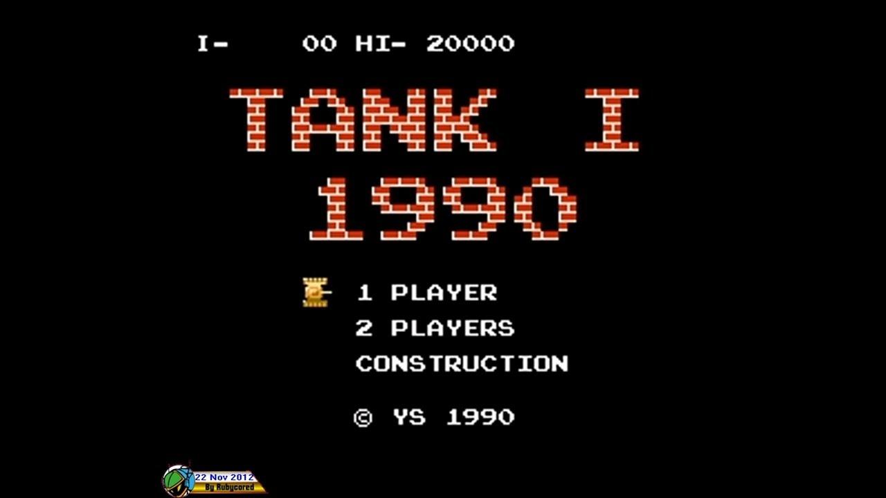 Tank 1990 (1990, NES; Battle City) - Mode I [720p]