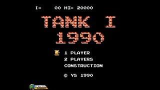 Tank 1990 (1990, NES; Battle City) - Mode I [1080p]