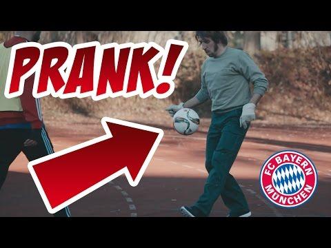 FC Bayern Prank! Alaba, Ribéry und...