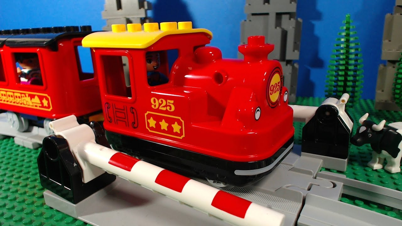Lego Duplo Steam Train 10874 Youtube