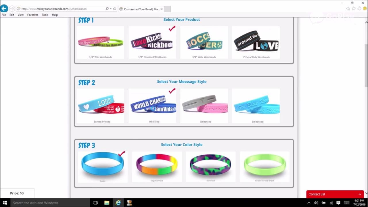 Custom Silicone Wristbands Rubber Bracelet Maker Make Personalized Easy You