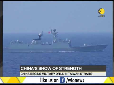 Chinese Navy launches live-fire exercise; Is China drill a warning to Taiwan and US?