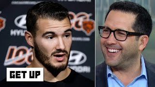 Mitchell Trubisky 'ratted himself out' by saying he's sensitive to critics - Adam Schefter   Get Up