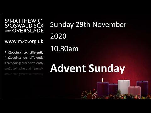 10.30 Service Advent Sunday 29 Nov