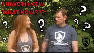 I Have My CCW, What Now?| How to CCW