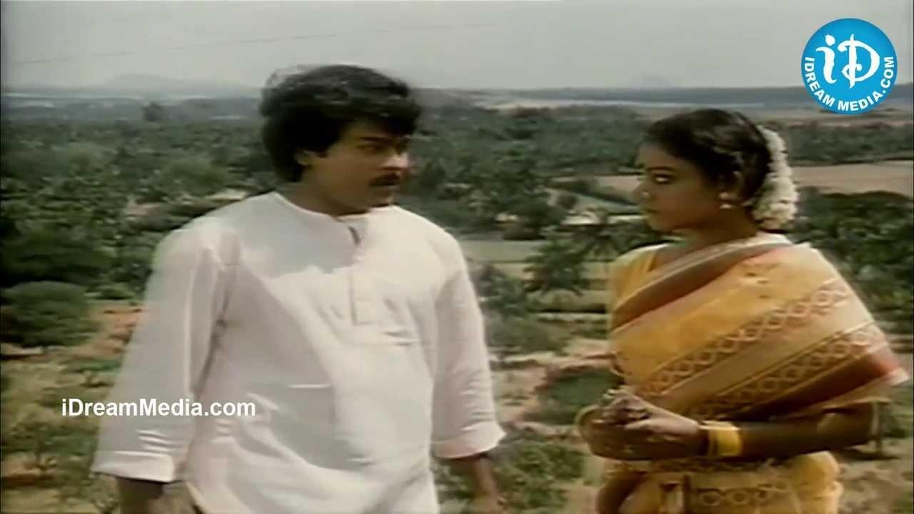 Chiranjeevi Gemini Ganesan Prasad Babu Nice Emotional: Shobana, Chiranjeevi Best Scene