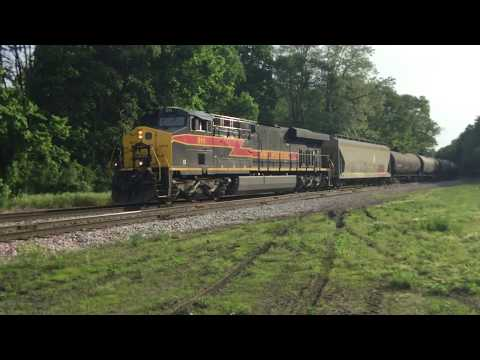 IAIS 511 leads the Iowa Interstate BISI ethanol train through Bureau, IL 05/17/17