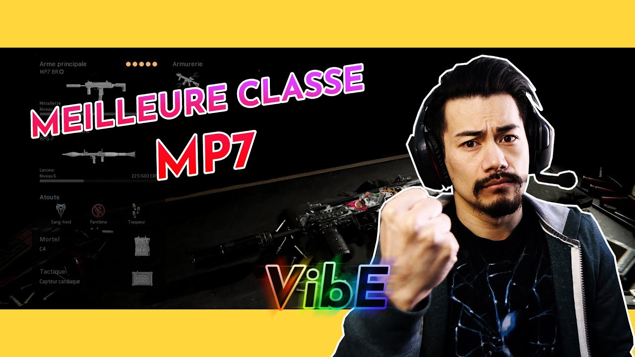 Tuto Call of duty Warzone meilleure classe SMG MP7
