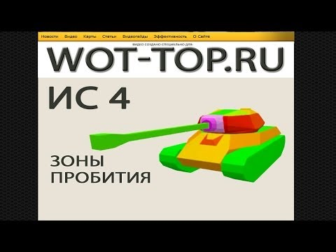 ИС 4 пробитие [World of Tanks]
