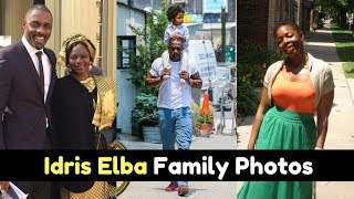 Actor Idris Elba Family Photos With Partner, Ex Wife, Son, Daughter, Mother, Childhood Picture