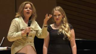 Elizabeth Novella 2016 Master Class with Renée Fleming