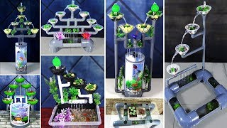 9 AWESOME IDEAS DIY AQUARIUM from PVC PIPES