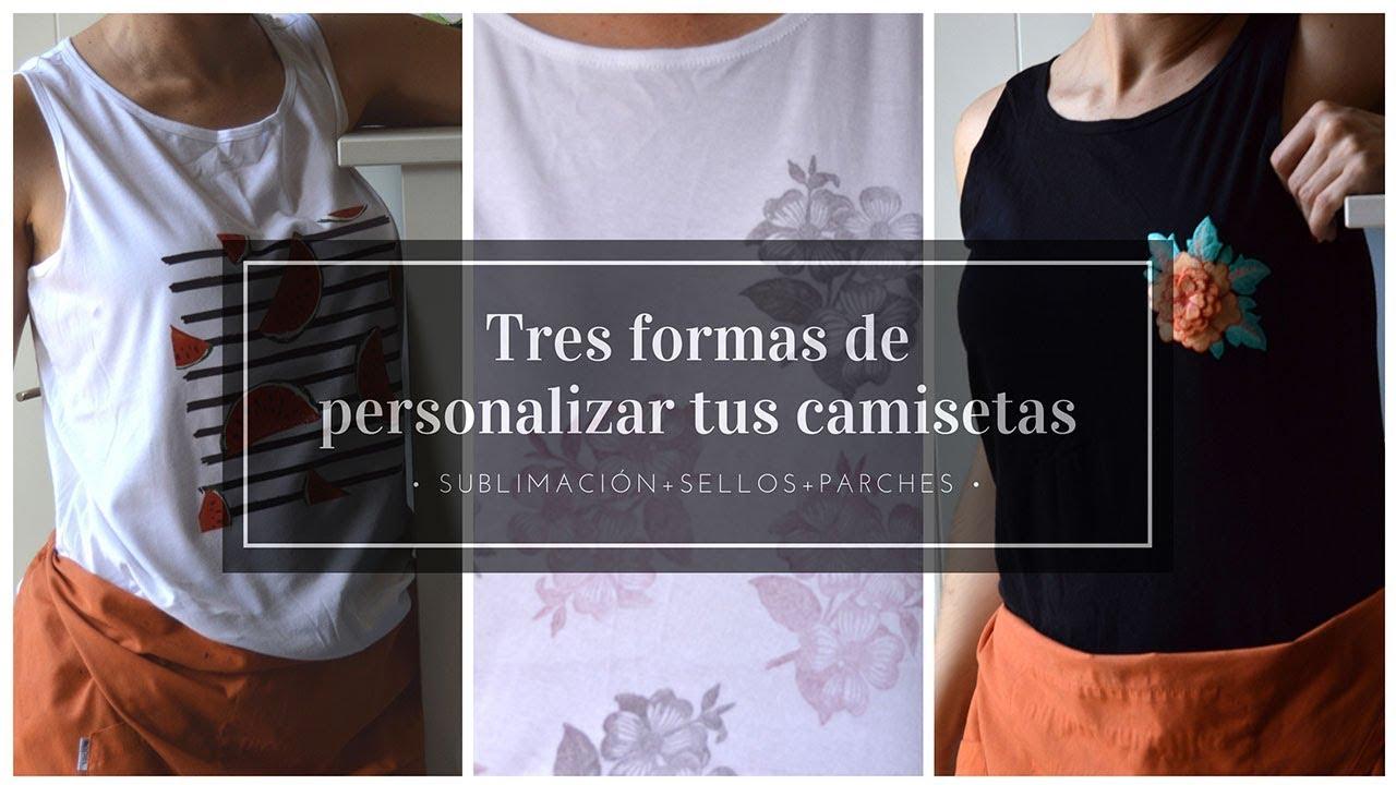 a3a5367a066f6 DIY Tres formas de personalizar camisetas  trucos y técnicas que se ...