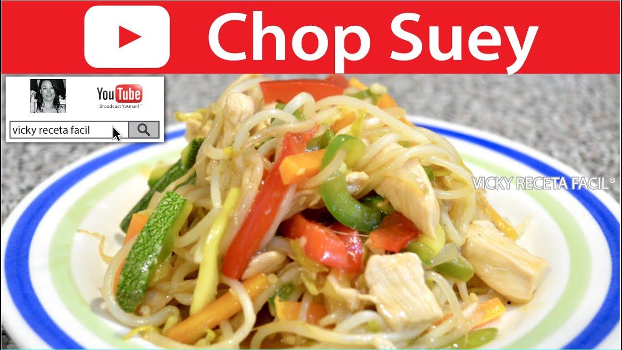 Suey receta chino chop de mixto