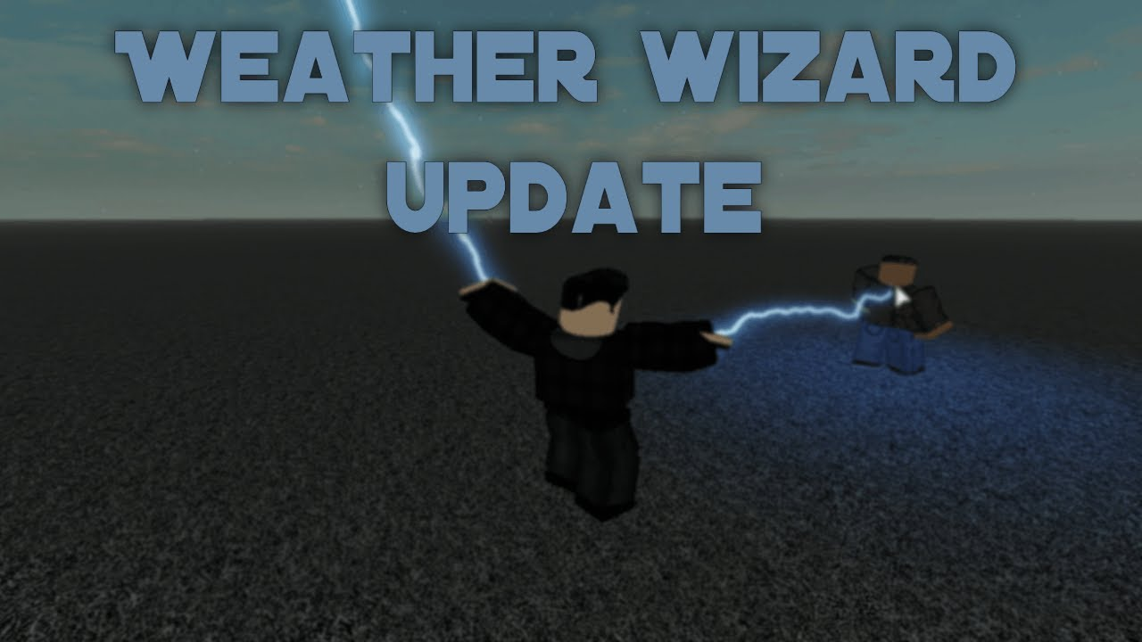 Weather Wizard Moveset Update The Flash Roblox Youtube
