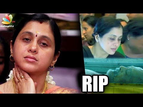 Actress Devayani's father passes away | Funeral, Death Video | Nakul Tamil Actor