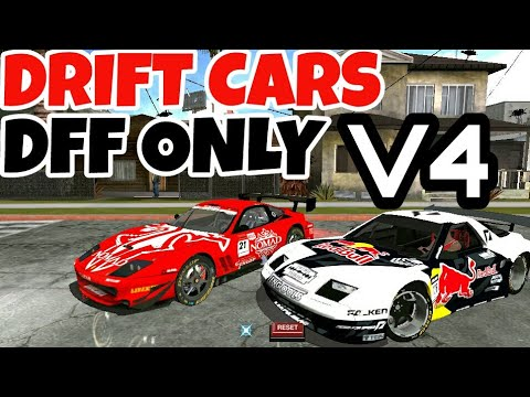 Gta Sa Android Drift And Racing Cars Dff Only No Txd V4 Youtube