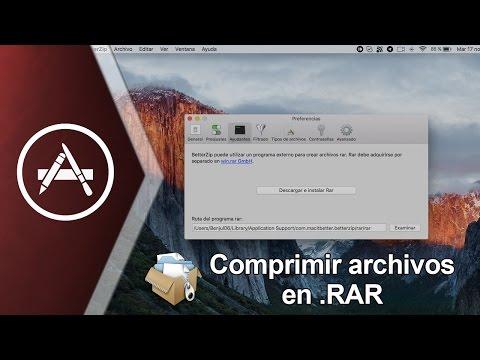 Como crear archivos ZIP (.zip) en Mac Gratis y Rapido ...